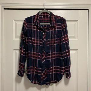 Athleta CYA flannel shirt -Size S